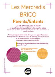 Mercredi Brico