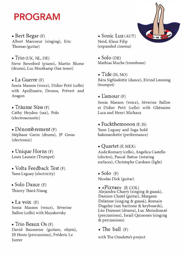 programme PDF anglais